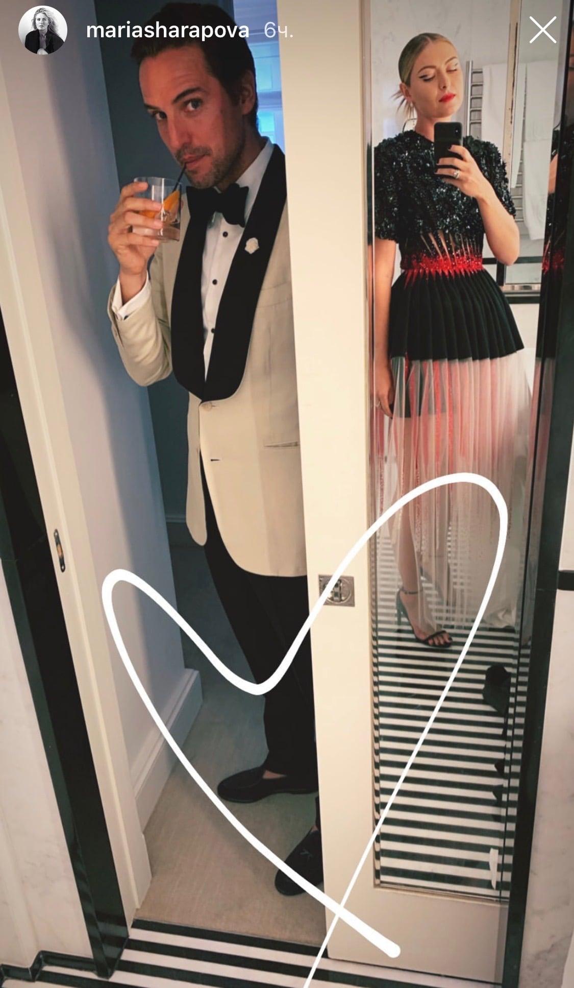 Шарапова и Серена на главной модной вечеринке мира. Серена снова победила