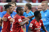 Динамо Москва, премьер-лига Россия, Спартак