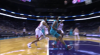 Miles Bridges with one of the day's best dunks