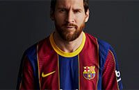 Барселона, Лионель Месси, Ла Лига, Nike, Антуан Гризманн, игровая форма, стиль