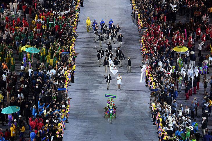 На открытии Олимпиады сборные пойдут в странном порядке –он зависит от языка хозяев. Поэтому Россия между Сан-Марино и Сьерра-Леоне