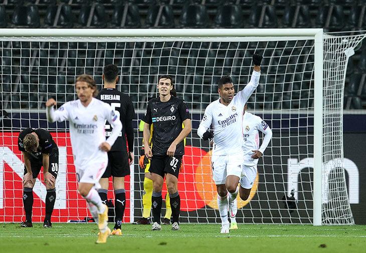 «Реал» – 4-й в группе. Проигрывали до 93-й минуты после дубля сына Тюрама (он начинал в «Барселоне»)