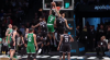 Jaylen Brown with one of the day's best dunks