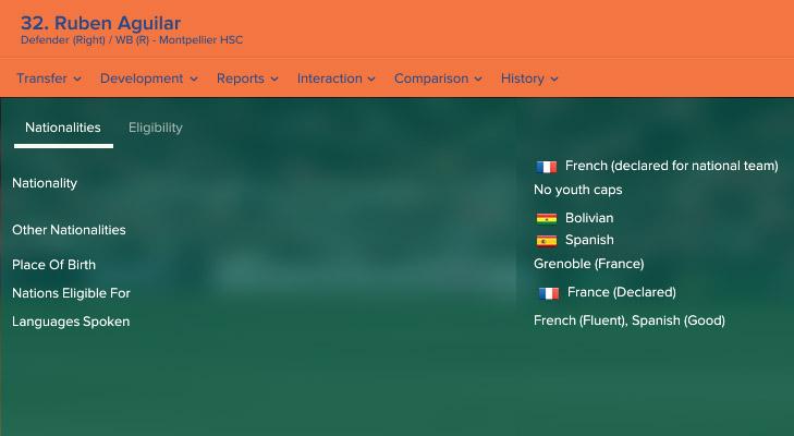 Французского защитника ждали в сборной Боливии. Из-за ошибки в Football Manager