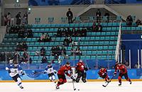 Сборная России по хоккею, болельщики, Сборная Канады по хоккею, Сборная США по хоккею, Сборная Швеции по хоккею, Сборная Финляндии по хоккею, Сборная Чехии по хоккею, Сборная Словакии по хоккею, Сочи-2014, Сборная Швейцарии по хоккею, Сборная Германии по хоккею, Ванкувер-2010, сборная Словении, Сборная Норвегии по хоккею, Пхенчхан-2018, Турин-2006, Сборная Южной Кореи по хоккею, Солт-Лейк-Сити-2002, олимпийский хоккейный турнир, Нагано-1998, Альбервиль-1992, Лиллехаммер-1994