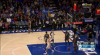 Robert Covington gets up for the big rejection