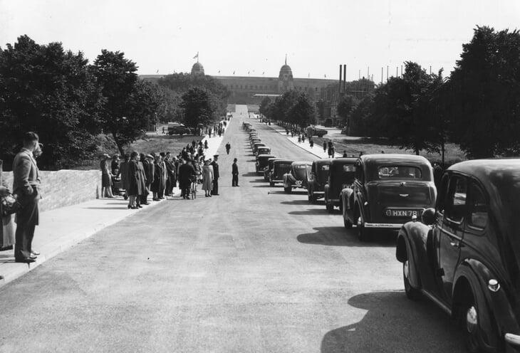 Знаменитую дорогу к «Уэмбли» строили пленные немцы: новый урок истории