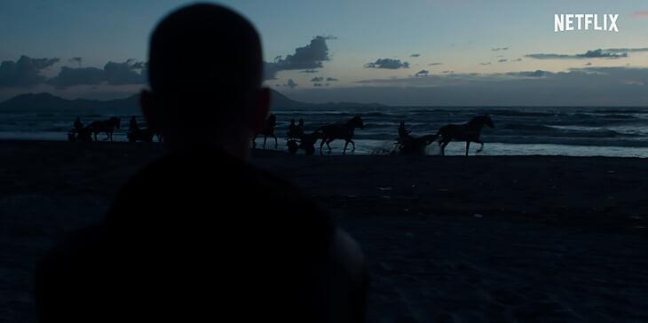 Посмотрели фильм Netflix об ультрас «Наполи». Много штампов и слабое погружение в тему, но снято красиво