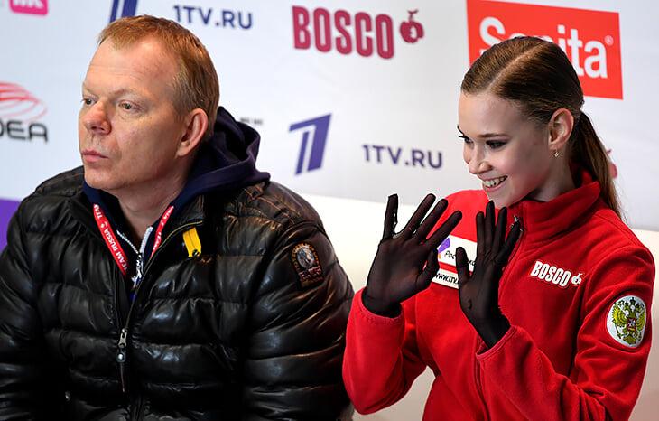 Короткую программу выиграла Трусова или Хромых, но никак не Косторная. Алена дважды ошиблась, а судьи простили ей все