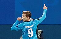 Лига Европы, Александр Кокорин, премьер-лига Россия, Зенит