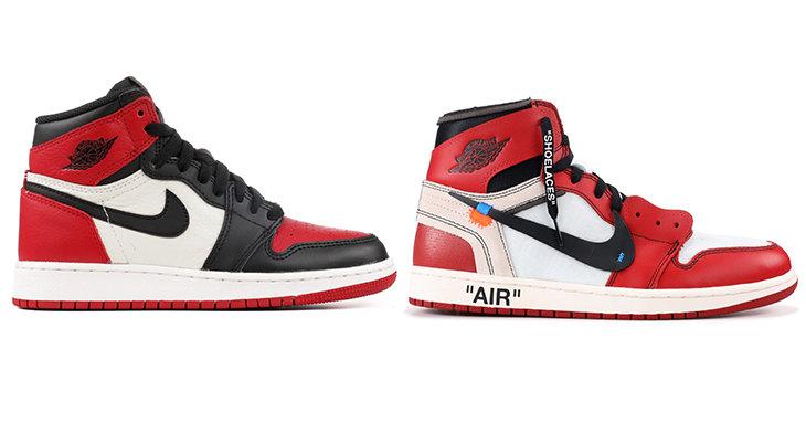 e6efdb1d В 2017-м Nike и Абло организовали проект The Ten – редизайн 10 классических  моделей кроссовок Nike в стилистике лейбла Вирджила Off-White.
