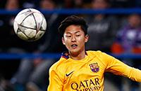 Барселона, Барселона Б, Барселона U-19, Ли Сын У, Бэк Сын Хо