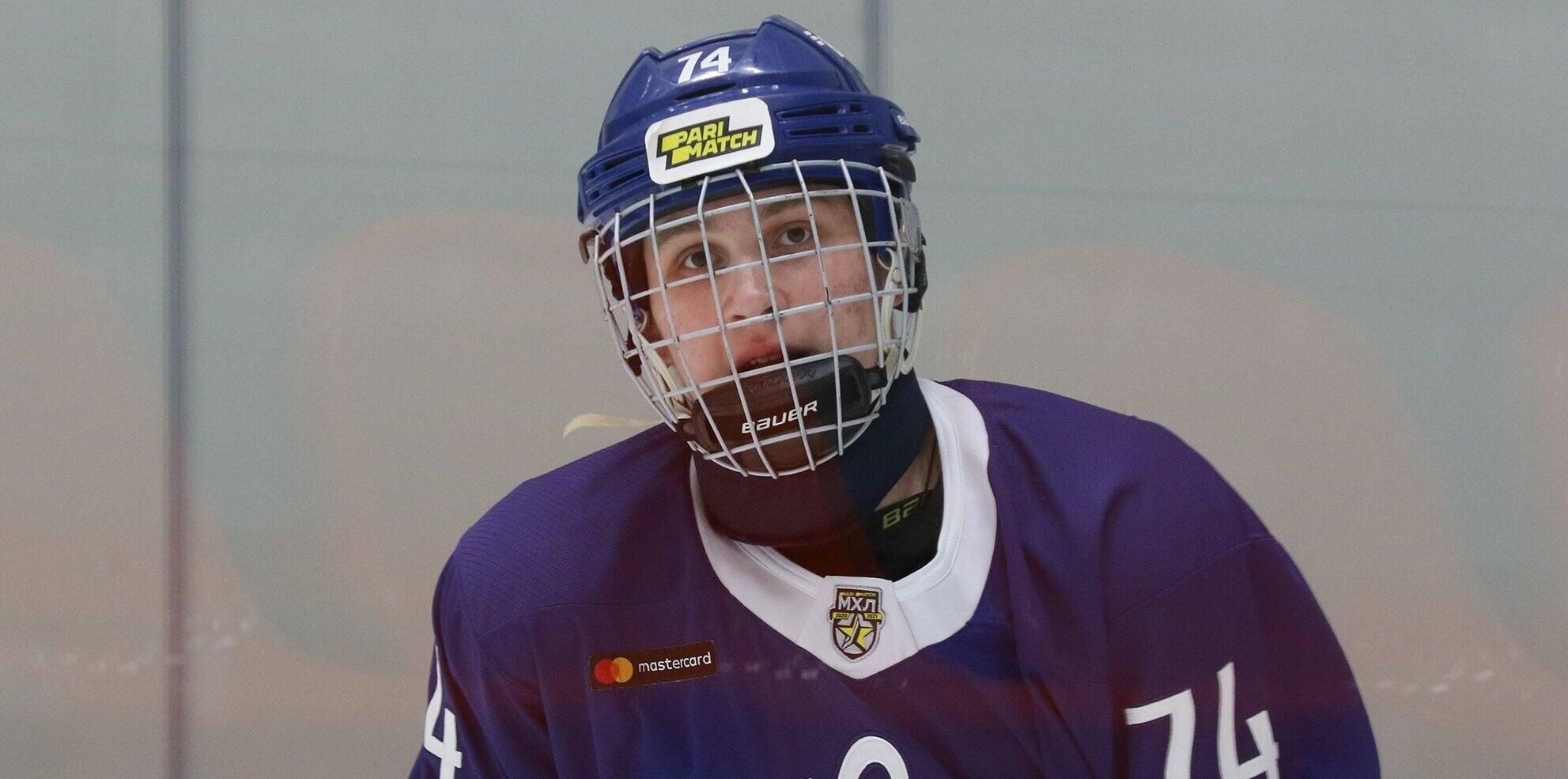 18-летний защитник Никита Новиков стал самым молодым автором гола Динамо в КХЛ. У него 1-я шайба в лиге