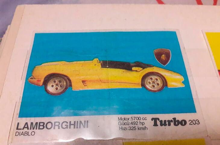 Караваев рассказал про символ роскоши из детства – желтую машину из жвачки Turbo. Мы ее нашли и вспомнили культ вкладышей