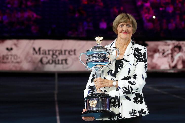 Маргарет Корт – борец с ЛГБТ и одна из главных теннисисток истории. Ее чествовали на Australian Open