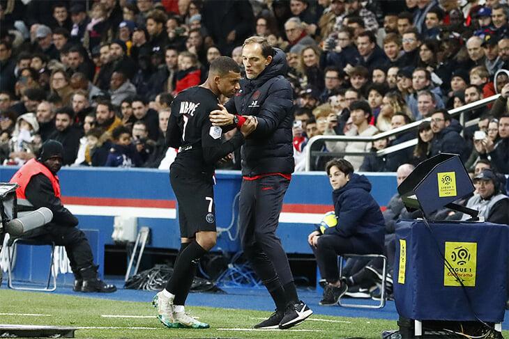 Мбаппе устроил истерику из-за замены при счете 5:0. А после матча злился уже Тухель
