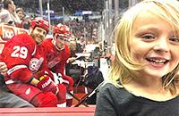 выставочные матчи, болельщики, Детройт, Стив Отт, фото, НХЛ, Дэнни ДеКайзер, Дилан Ларкин