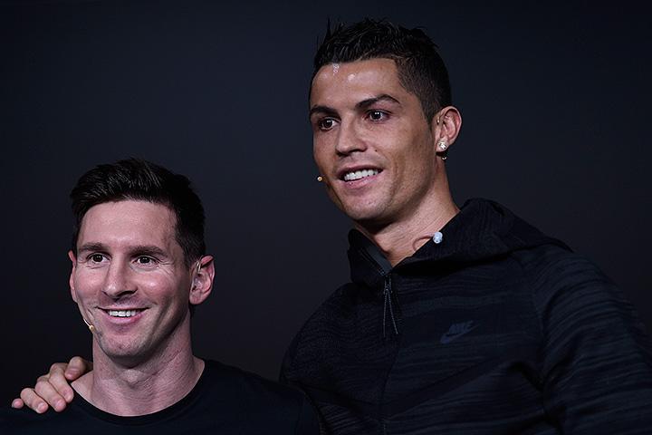 сборная Португалии, Барселона, Реал Мадрид, Лионель Месси, Криштиану Роналду, Евро-2016
