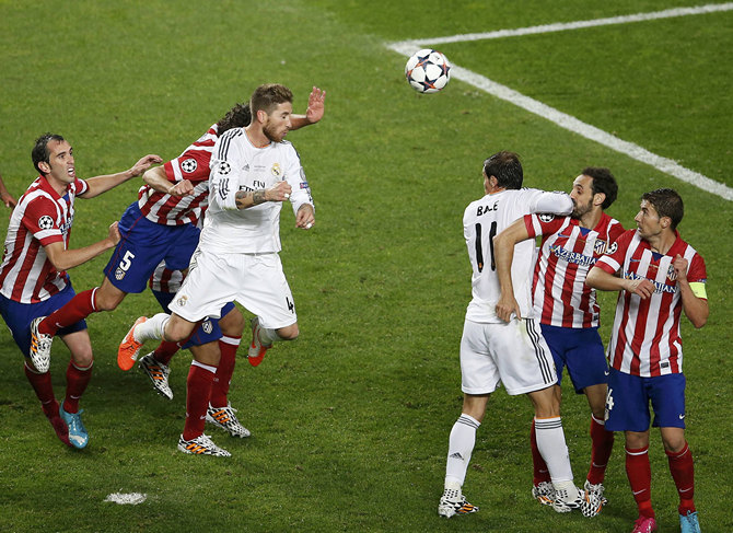 Атлетико, Серхио Рамос, Лига чемпионов, Реал Мадрид, болельщики
