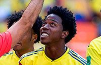 Карлос Санчес, Сборная Колумбии по футболу, Сборная Японии по футболу, Сборная Сенегала по футболу, ЧМ-2018