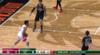 Kenyon Martin Jr. 3-pointers in Milwaukee Bucks vs. Houston Rockets