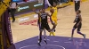 Kentavious Caldwell-Pope sends the shot away