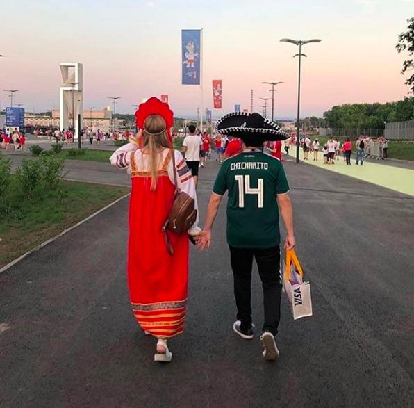 болельщики, ЧМ-2018 FIFA, Сборная Мексики по футболу