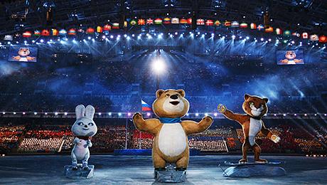 Церемония открытия Олимпиады в Сочи. Как же круто это было