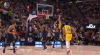 Alex Caruso throws down the alley-oop!