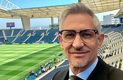Лестер, Лига чемпионов УЕФА, Гари Линекер, Рио Фердинанд