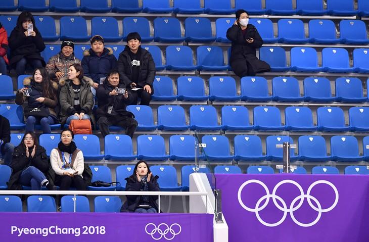На Олимпиаду продали 107% билетов, но трибуны пустые