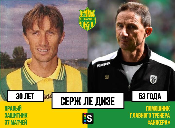 Состав футбольного клуба нант 1996