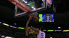 Rudy Gobert with the huge dunk!