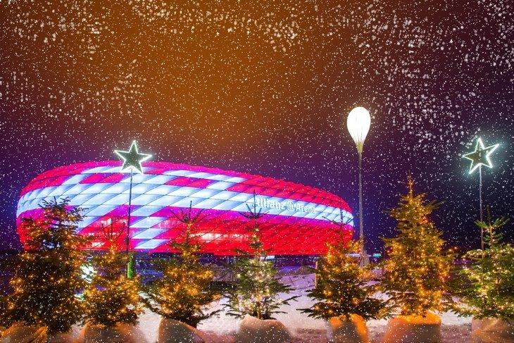 Альянц-Арена, Бавария, бундеслига Германия