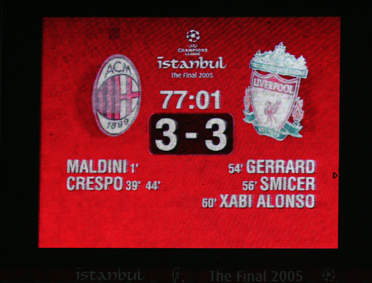 «Ливерпуль» отыграл три мяча в стамбульском финале ЛЧ. Что произошло в перерыве?