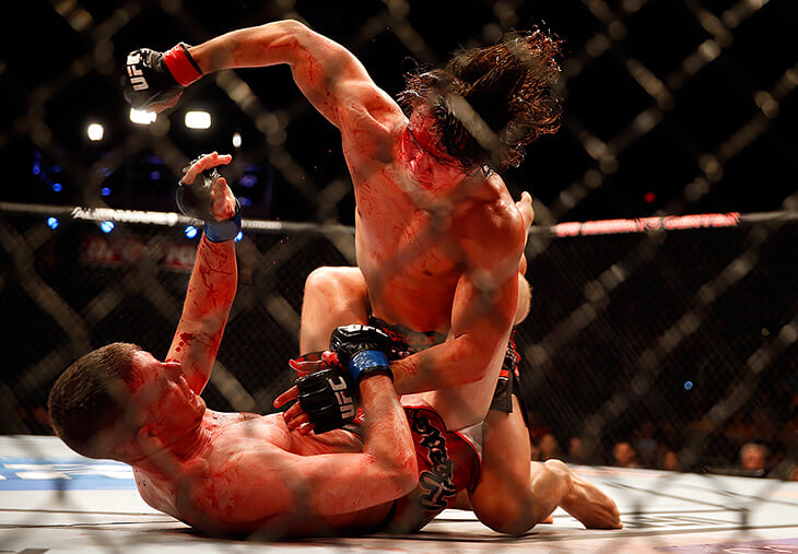 До MMA во всем мире были бои без правил. Их любили еще с Древней Греции, но запрещали из-за жестокости