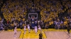 Kyrie Irving beats the buzzer vs. the Warriors