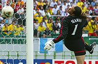 Сборная Англии по футболу, чемпионат мира, видео, Дэвид Симэн, Роналдиньо, Сборная Бразилии по футболу