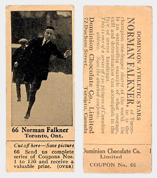 Норман Фолкнер – легенда фигурного катания даже без титулов: потерял ногу на войне, но все равно выступал и собирал по три шоу в неделю