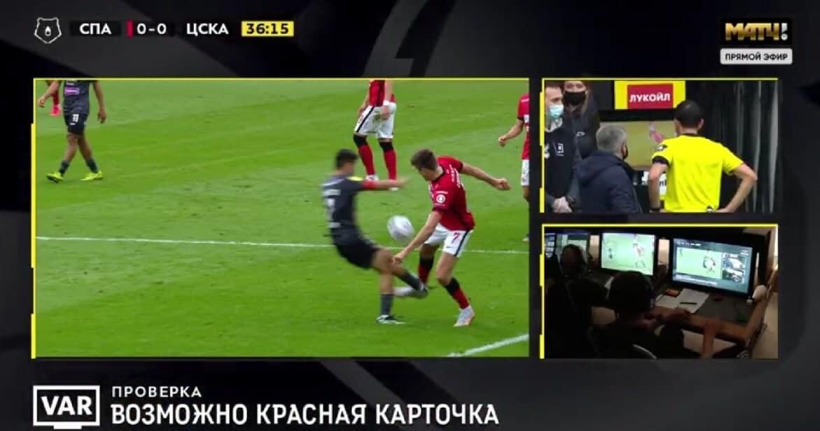 Прямая красная Ахметову в дерби: влетел шипами в ногу Соболева
