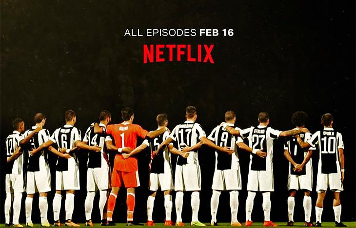Сериал «Ювентуса» и Netflix – это мощнейший маркетинговый успех