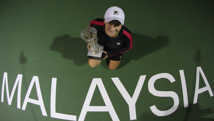 Australian Open, WTA Malaysian Open, крикет, Эшли Барти, WTA