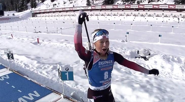 Эмоции чемпионки Экхофф на стрельбе: впервые прошла 4 рубежа на ноль