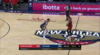 Damian Lillard scores and draws the foul
