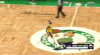 Rajon Rondo sinks the shot at the buzzer