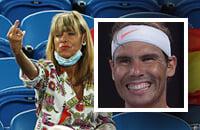 Рафаэль Надаль, Australian Open, происшествия, болельщики, ATP, Майкл Ммо