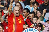 Сборная Испании по футболу, болельщики, ЧМ-2018 FIFA, чемпионат мира