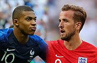 ЧМ-2018, Сборная Франции по футболу, Кубок Франции, Сборная Бельгии по футболу, Сборная Хорватии по футболу, Сборная Англии по футболу
