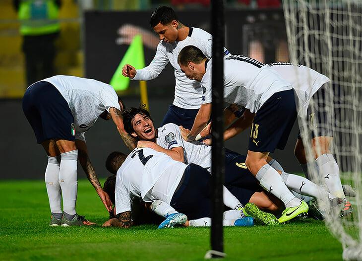 Счёт футбола вчера ч. м. англия италия