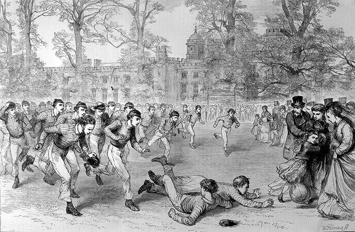 Весь мир играет в футбол благодаря Англии и Италии. Все началось в Древнем Риме и развилось в Британии в Средние века